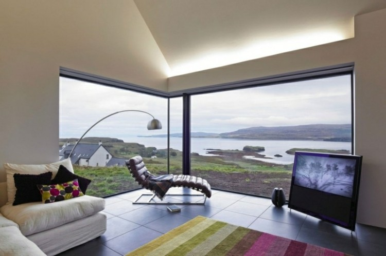 sala de estar vistas modernas