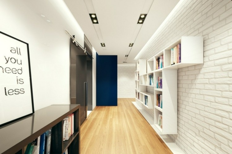 sala estudio luces led modernas