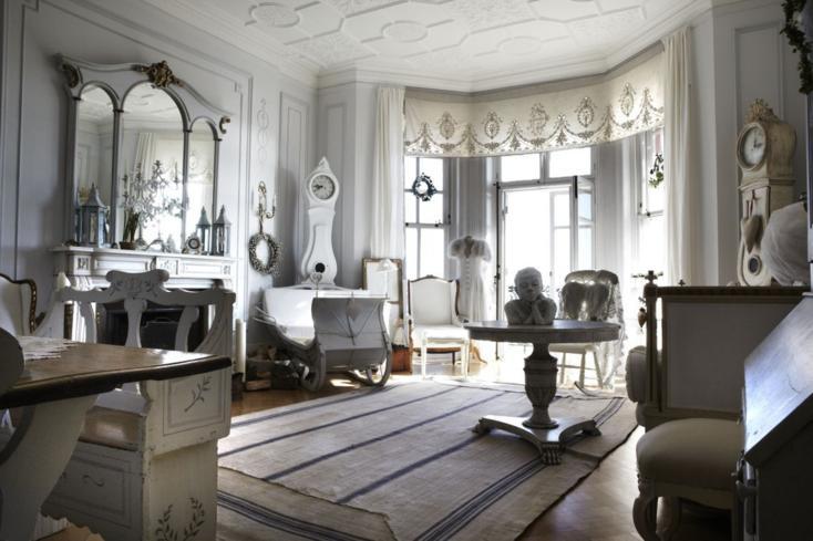 Sala De Estar Estilo Retro ~ sala de estar con muebles estilo retro