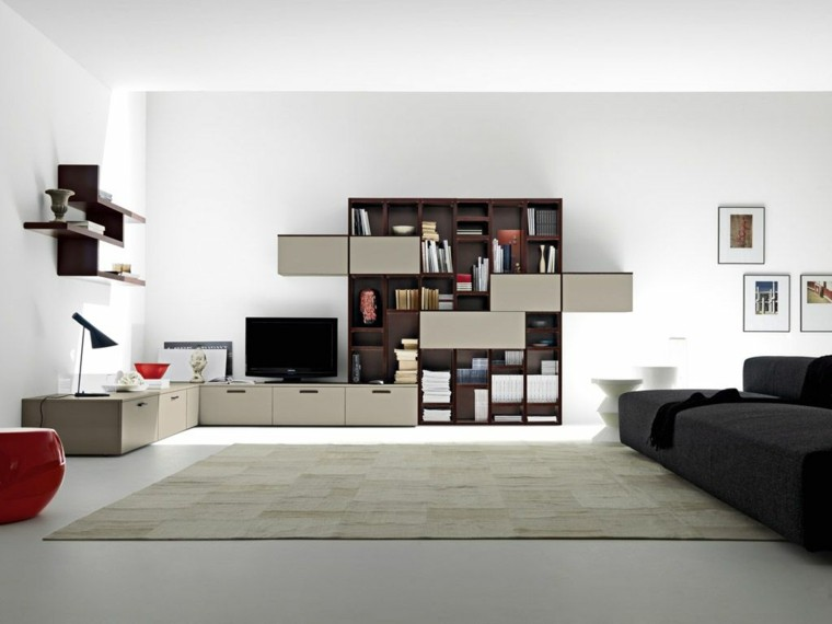 salon moderno mueble modular