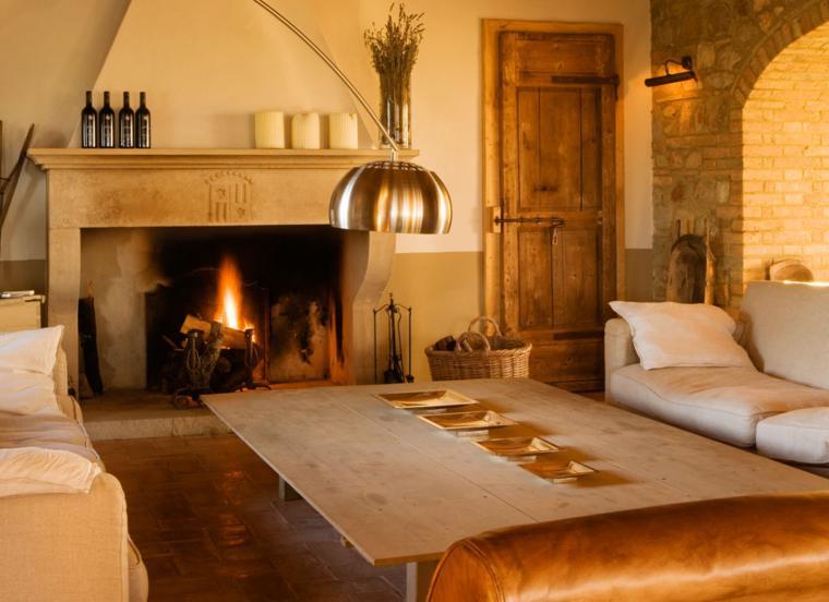 Chimeneas rusticas modernizadas 38 modelos geniales for Villa italia modelos