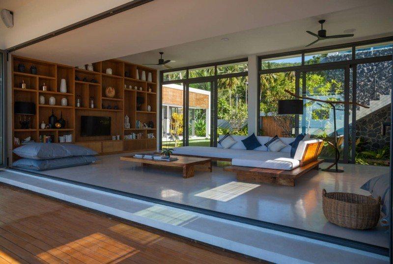 salon terraza diseño moderno