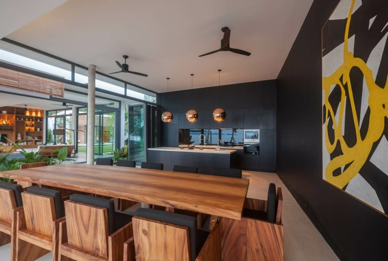 salon comedor diseño moderno lujoso