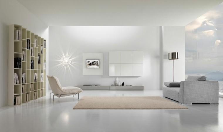 salones lujosos estilo minimalsita