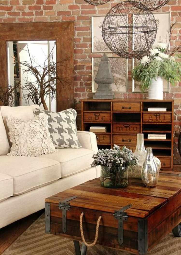 salones diseño maderas natural RUSTICO