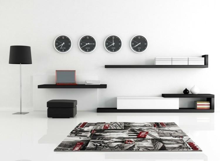 salones modernos casas detalles estilos relojes