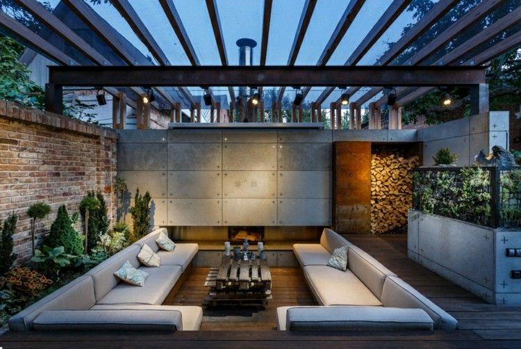 salones modernos ideas plantas decorado leñas
