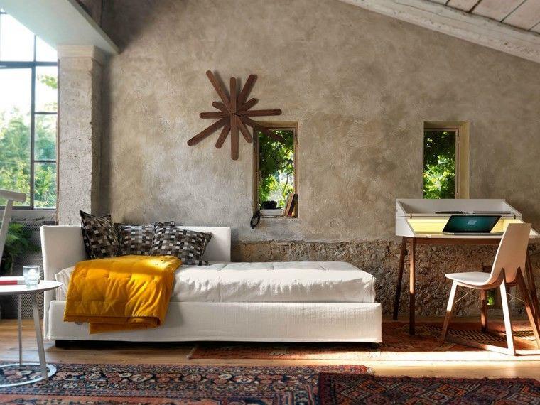 salones muebles modernos reloj preciosos ideas