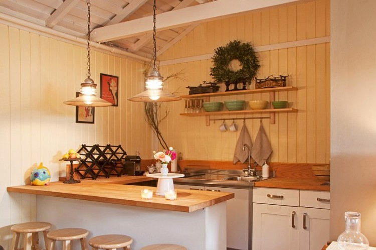 Shabby chic cocinas elegantes para personalizar tu hogar for Cocinas integrales corona