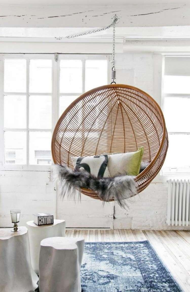 Sillas colgantes 25 ideas c modas y de puro confort for Sillas colgantes para jardin