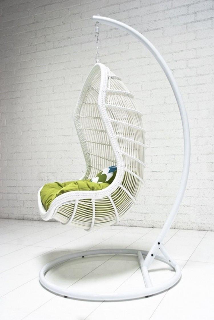 sillas colgantes exteriores blanco blanco