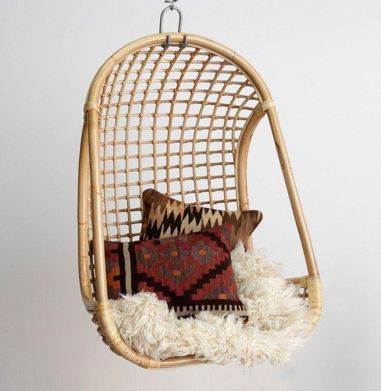 Sillas colgantes 25 ideas c modas y de puro confort - Sillas colgantes interior ...