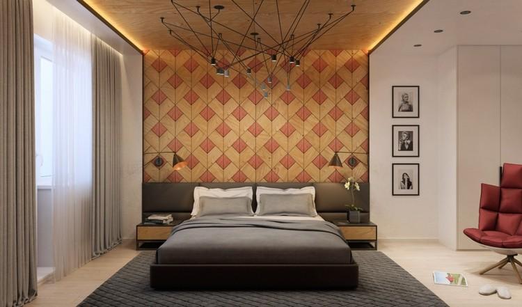 Texturas Paredes Y Dormitorios Sumamente Elegantes
