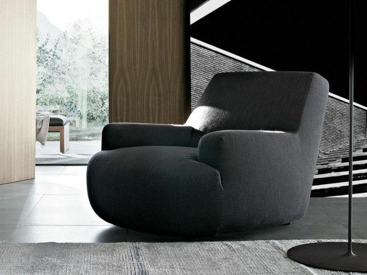 sillones preciosos negro elegante ideas