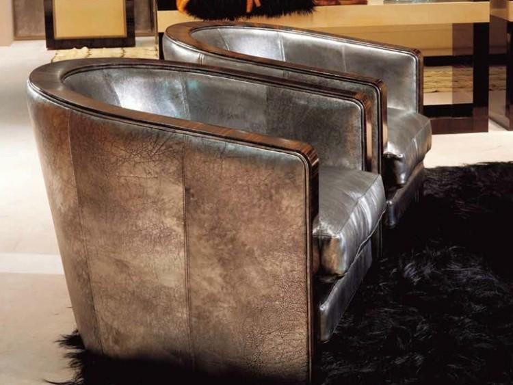 sillones relax casa moderna diseno alfombra negra ideas