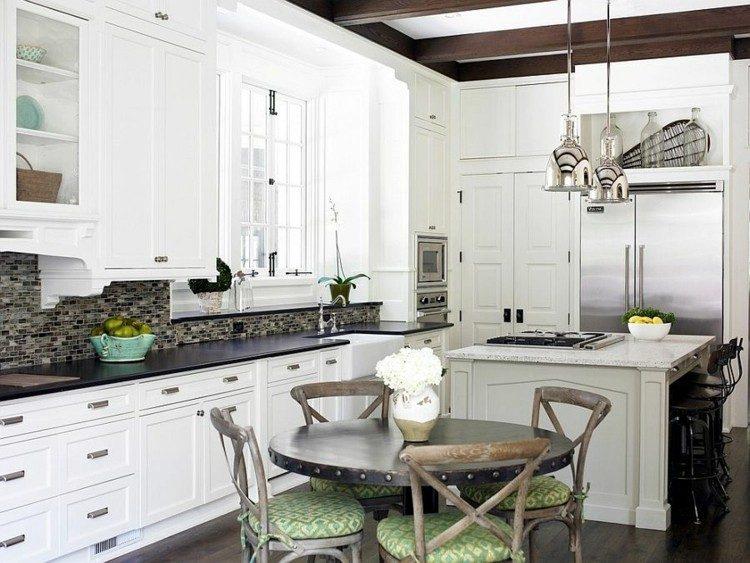 soluciones cocina diseños elegante muebles blanco