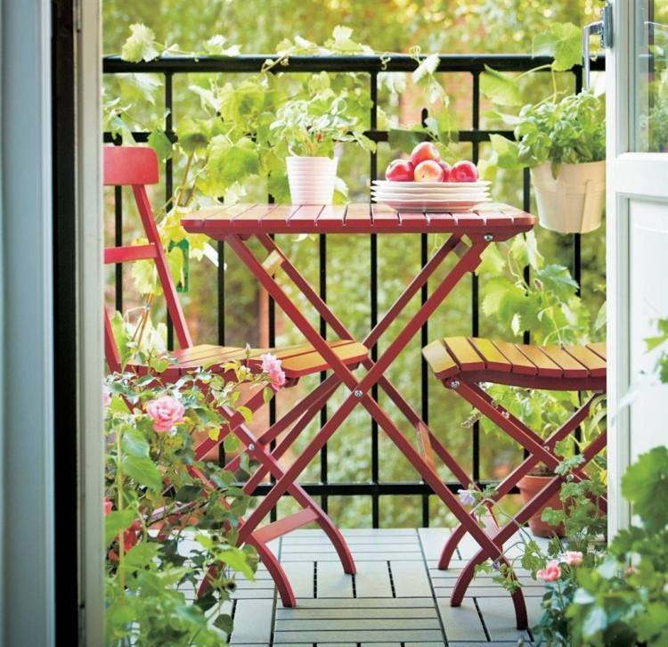 suelo madera exterior diseno vintage balcon ideas
