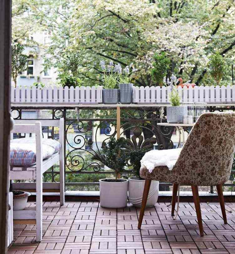 suelos madera exterior muebles salon balcon ideas