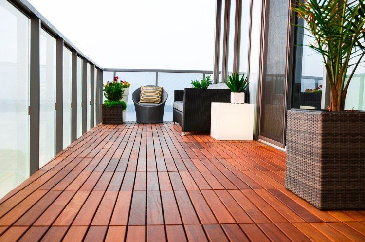 suelos madera exterior sillonesa plantas ideas
