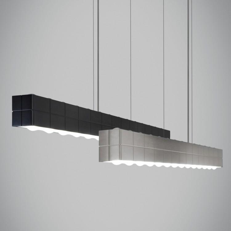 suspension atractiva pendiente negra texturas