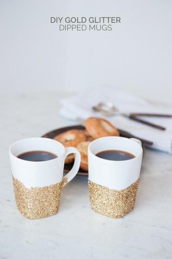 tazas cafe arena playa deco