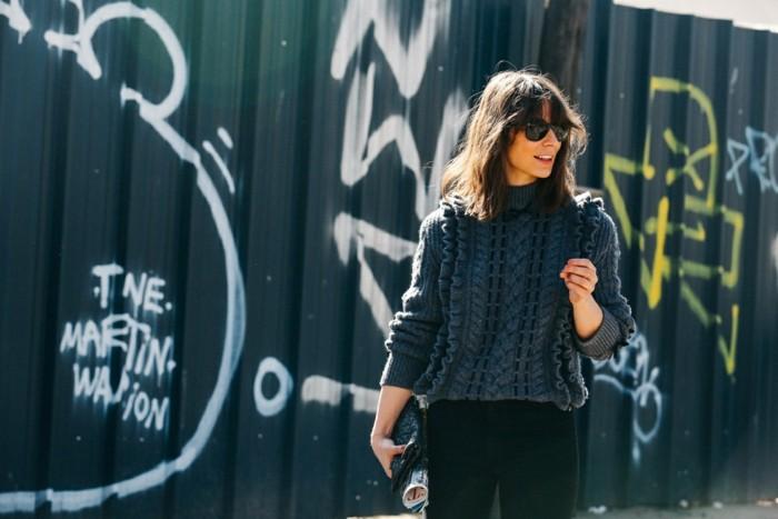 invierno 2015 jersey lana gris ideas