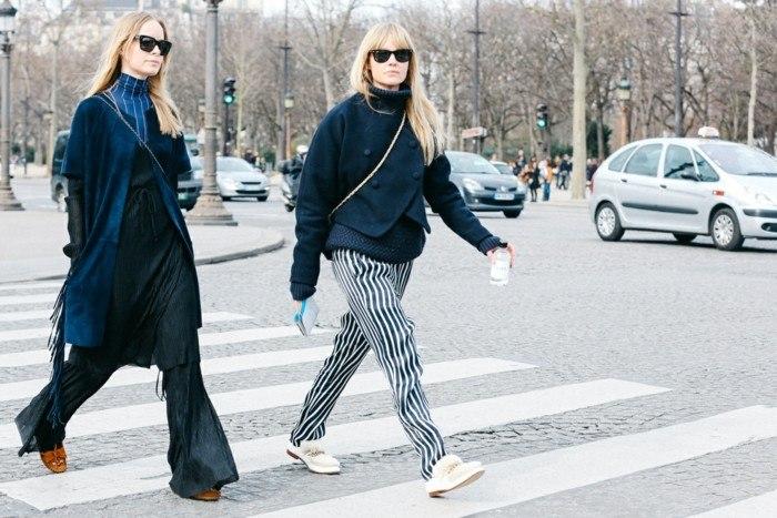 invierno 2015 pantalones anchos abrigos modernos ideas
