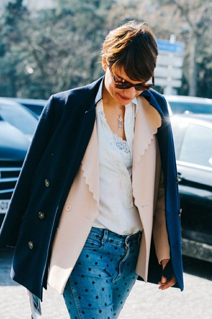 ropa invierno 2015 vaqueros cruces dos abrigos ideas