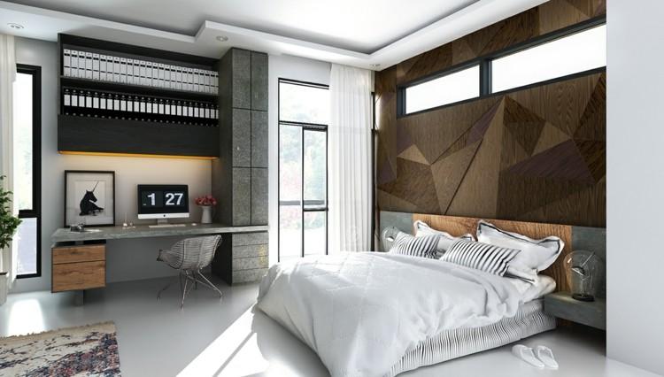 texturas paredes diseño creativo marrones sillas