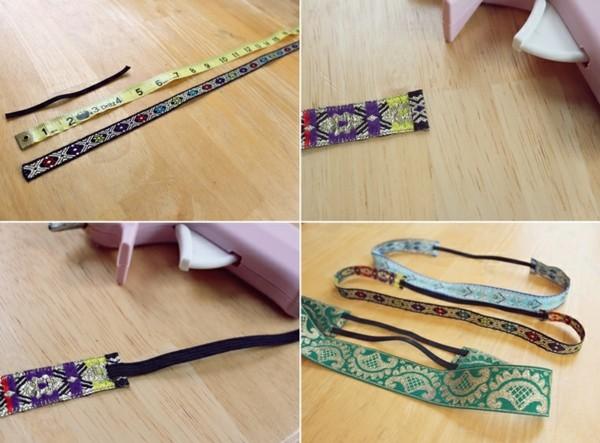 regalos para navidad tiras tela diademas elasticas