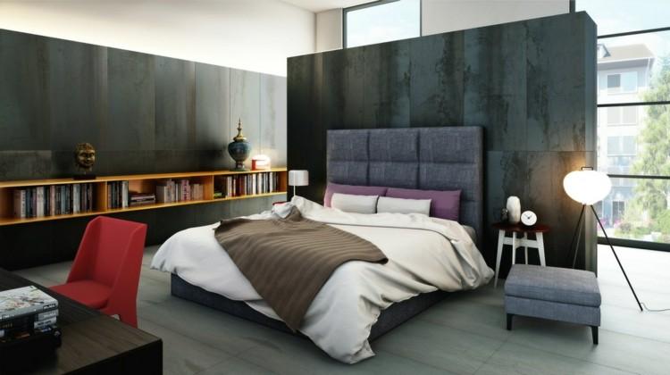 Texturas paredes y dormitorios sumamente elegantes - Decoracion de interiores pintura dormitorios ...