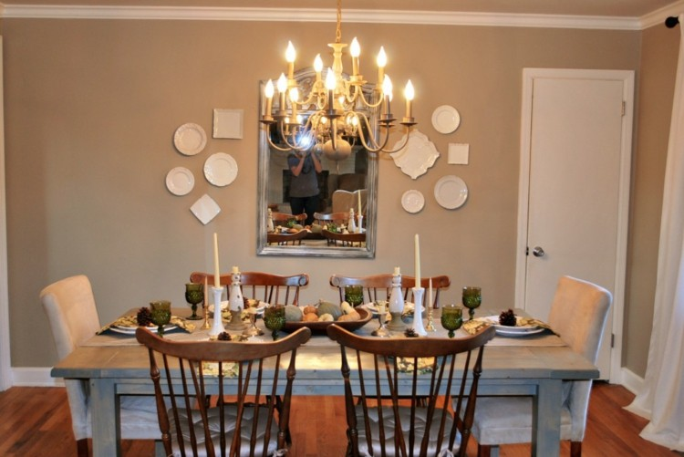 velas estilo casa decorado sillas manteles