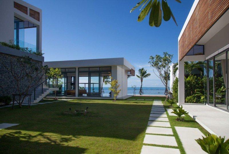 vistas acceso entrada resort exterior