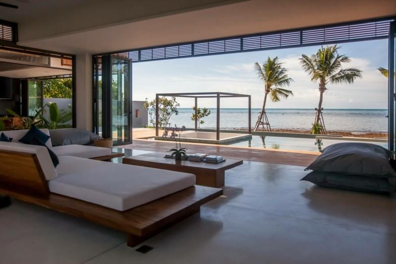 vistas terraza pergola madera