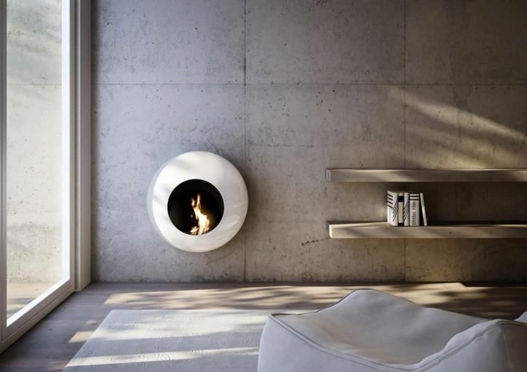 Andrea Crosetta chimeneas modernas casa ideas