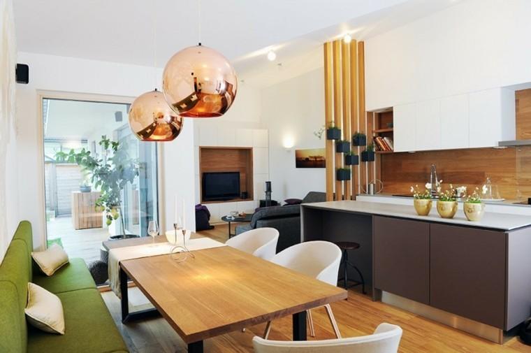 GAO Architects comedor cocina mismo espacio ideas
