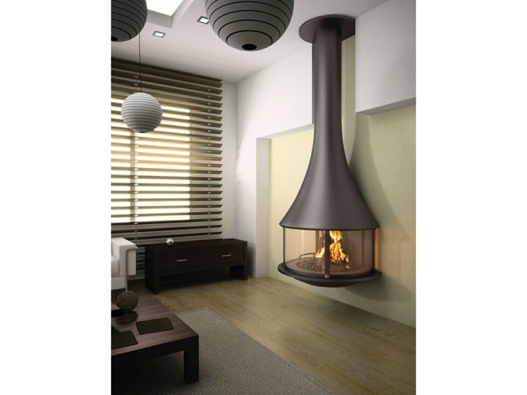 JC Bordelet Industries chimenea negra preciosa ideas