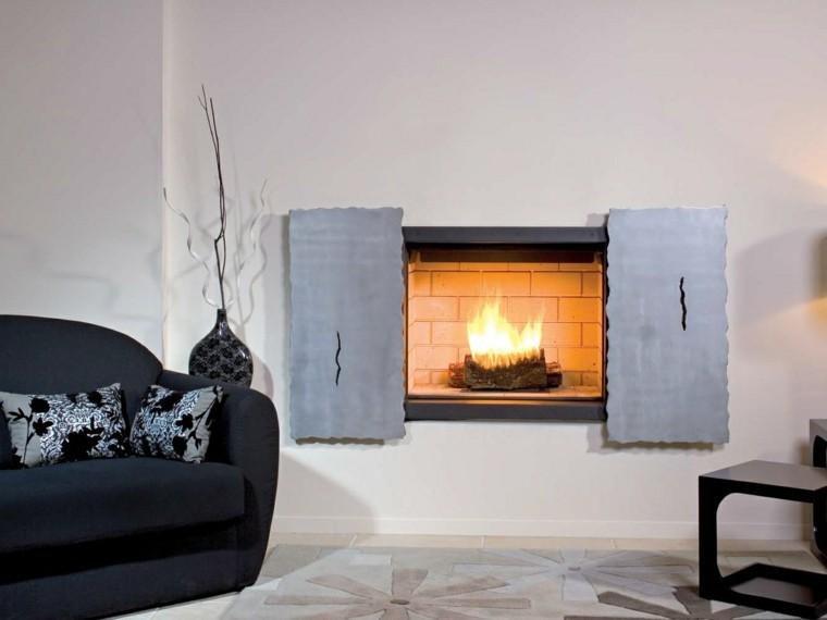 JC Bordelet Industries chimenea pared preciosa ideas