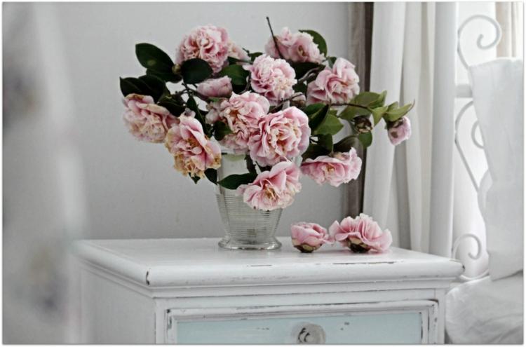 adornos florales luminoso blanco claro