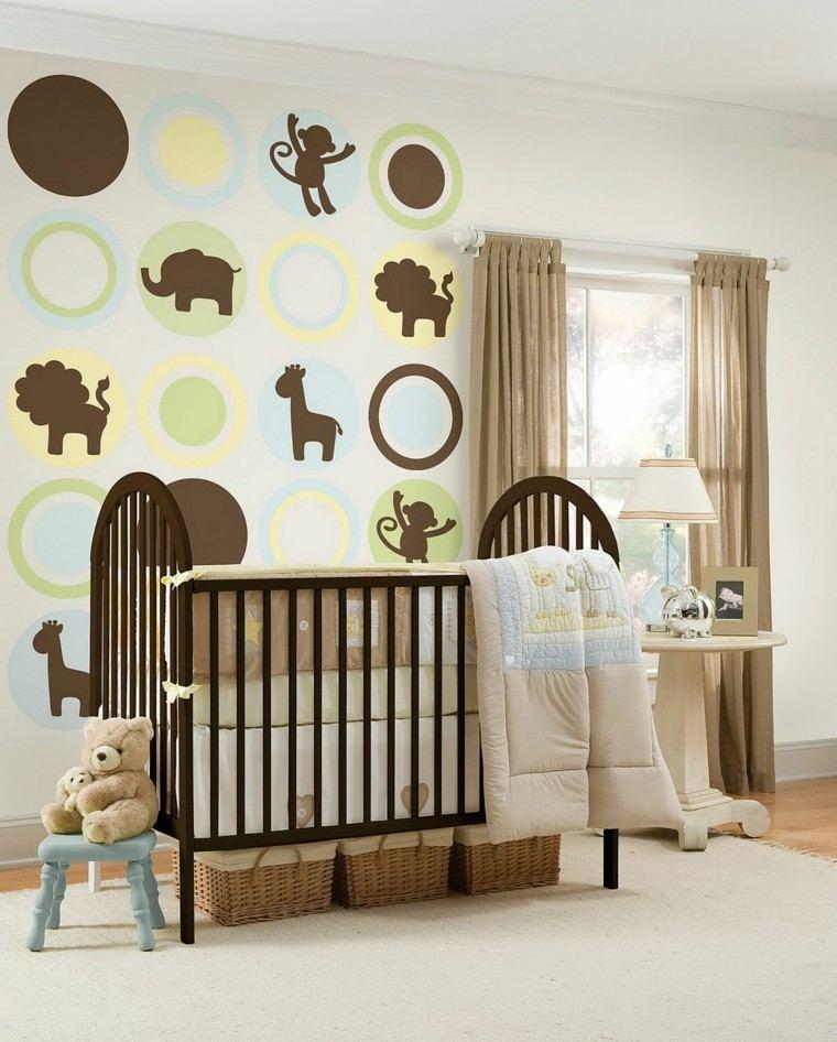 Cuartos de bebe treinta y ocho dise os encantadores - Colores habitacion bebe ...