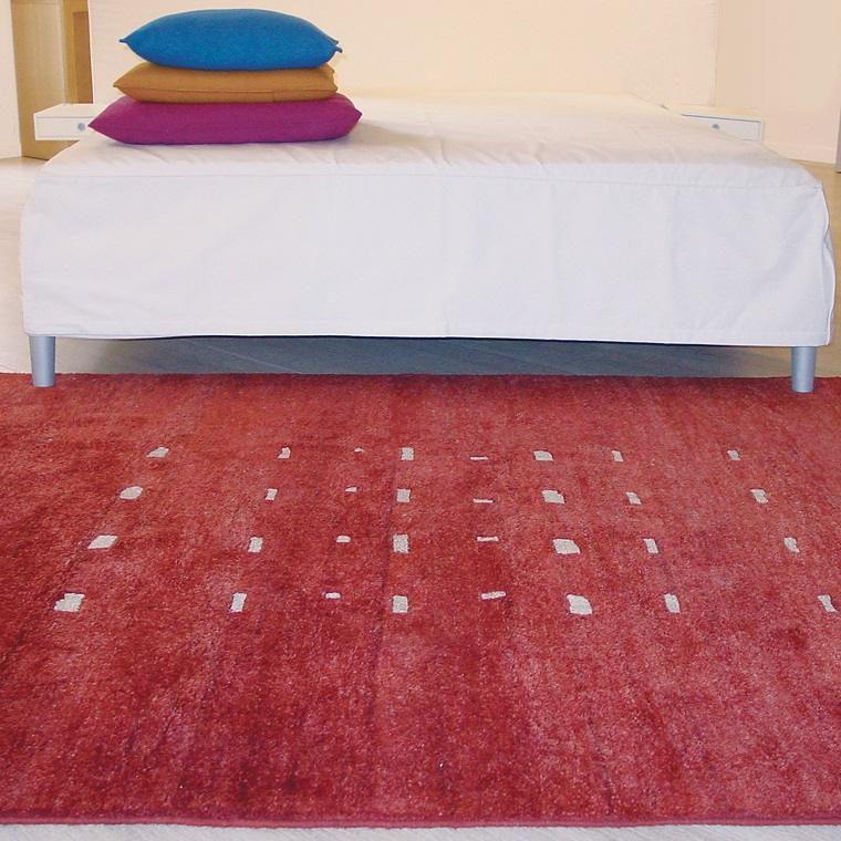 alfombras modernas alfombra roja preciosa ideas
