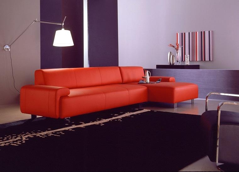 alfombra moderna negra aplicaciones ideas