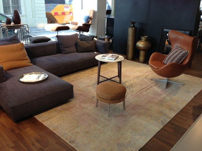 alfombra moderna salon sillones preciosos ideas
