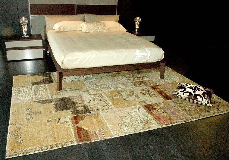 alfombras modernas vintage dormitorio ideas