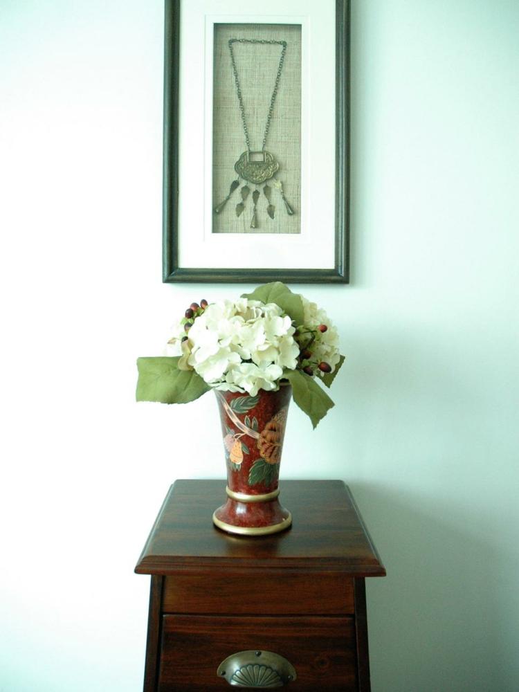 arreglos florales diseño creativo mueble sacos