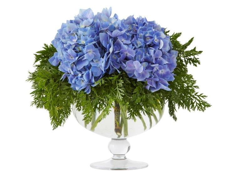 arreglos florales diseño creativo vintage violetas estilos