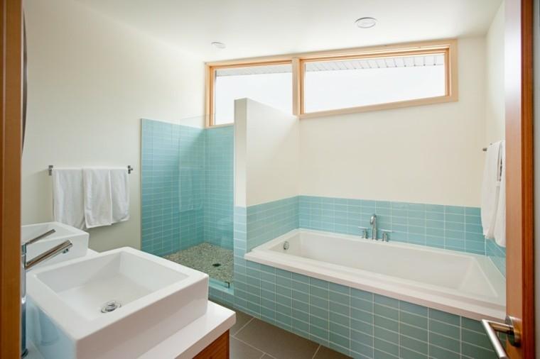 Tinas De Baño Romanticas:Baños modernos con bañera – cincuenta diseños