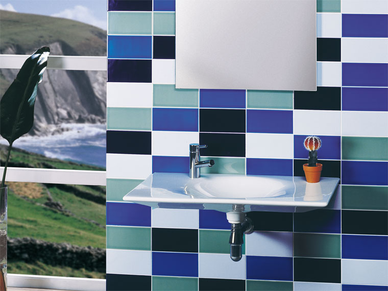Azulejos Baño Gresite:revestimiento baño azulejos modernos