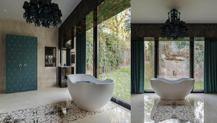bañeras exentas ideas practicas jardines alfombras