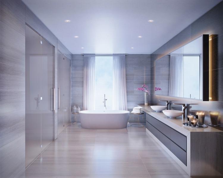 bañeras exentas luminarias diseños led